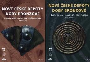 Nové české depoty doby bronzové. Díl 1, díl 2 (2 svazky)