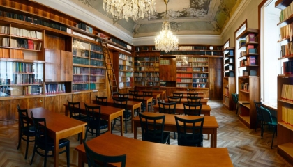 Closure of the library of the Institute of Archaeology
