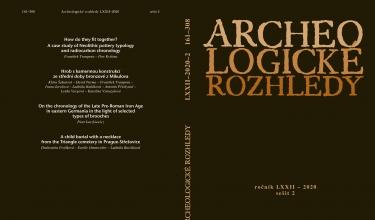 nové číslo Archeologických rozhledů 2020/2