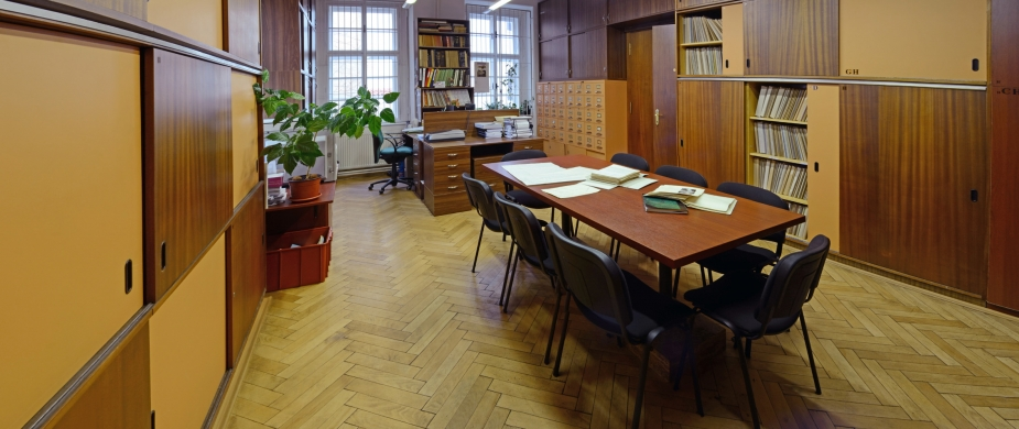 uzavření Archivu terénní dokumentace