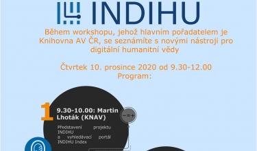pozvánka na online workshop INDIHU