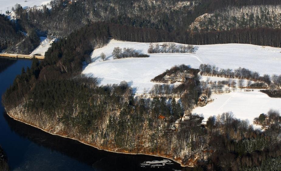 Letecký snímek. Autor: M. Gojda.