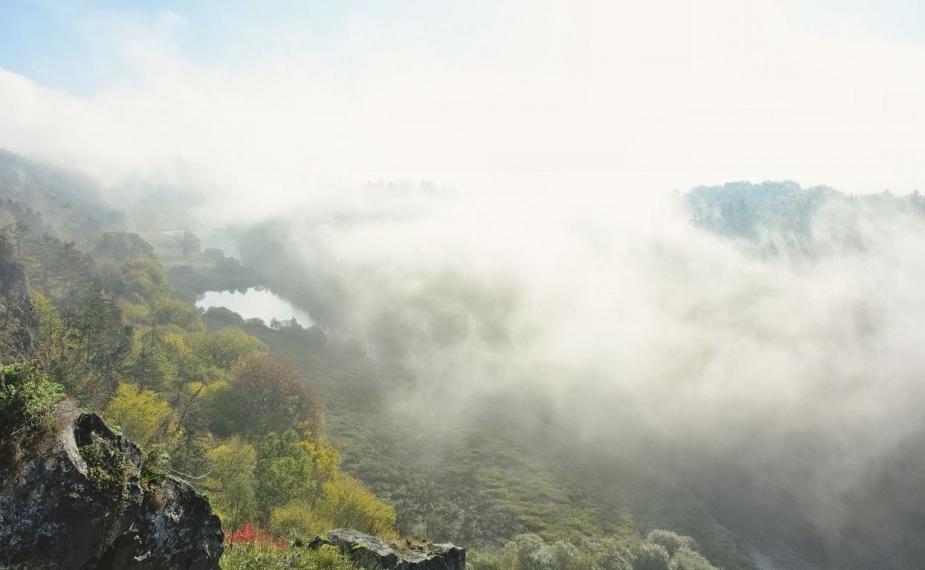 Pohled do údolí Berounky z Krašova. Autor: D. Stráník.