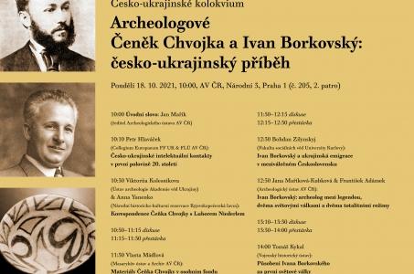 Archeologové Čeněk Chvojka a Ivan Borkovský: česko-ukrajinský příběh